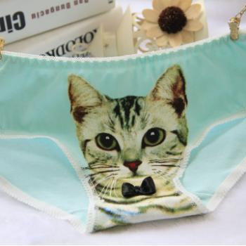 Girl Kitten Underwear