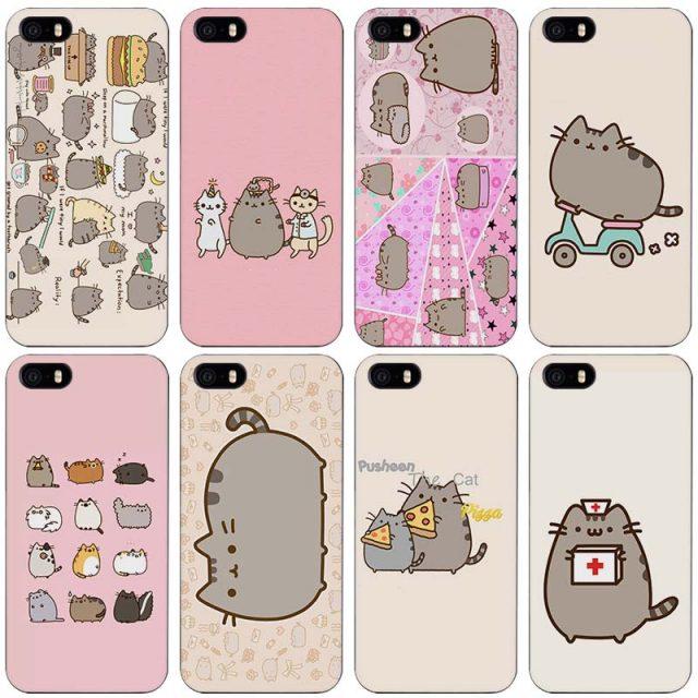 Pusheen Cute iPhone Case (19 types)