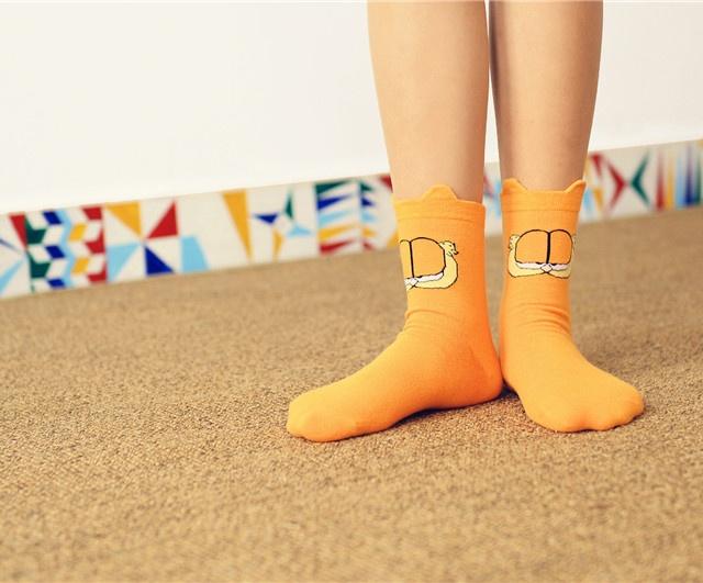 Cute Garfield Socks