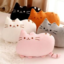 Pusheen-shaped Pillow (5 Colors Available)