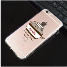 Pusheen Transparent iPhone Case (16 types)