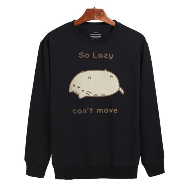 Lazy Pusheen Sweatshirt (2 types)