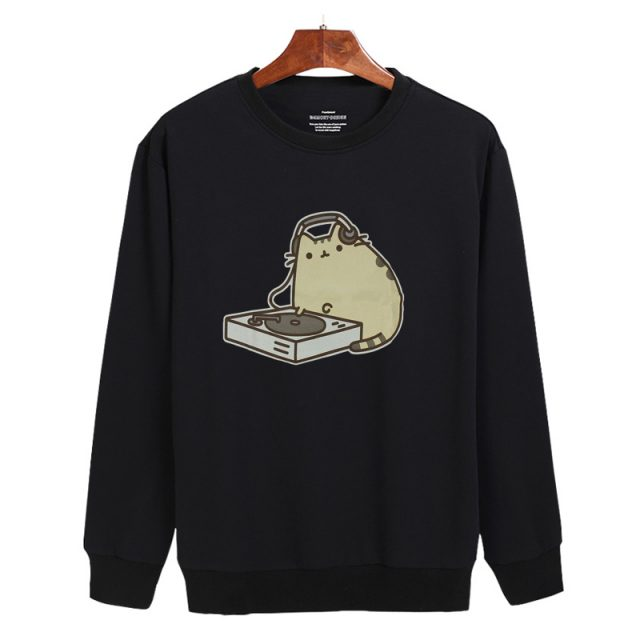 Pusheen Music Sweatshirt (2 types)