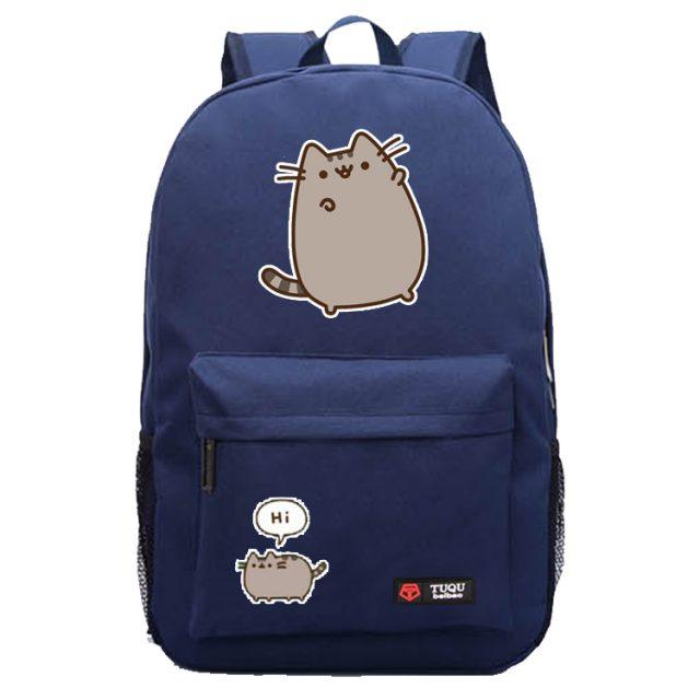 Student Pusheen Cat Bag (3 colors)