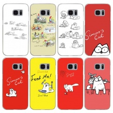 Simon`s Cat Hard Case For Samsung (8 types)