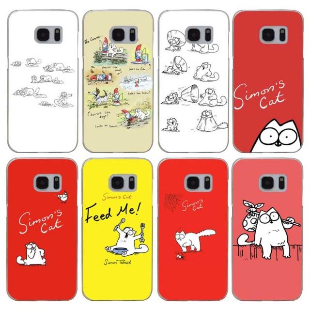 Simon`s Cat Hard Case For Samsung (8 types)