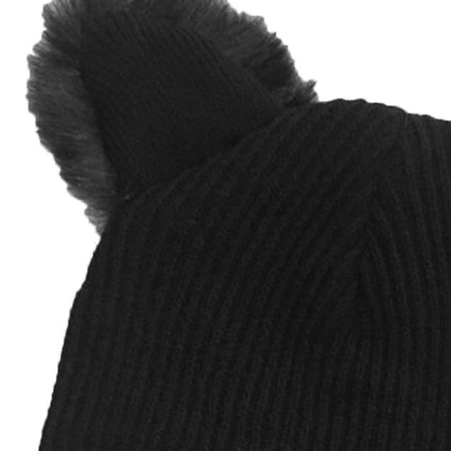 Wool Knitted Cat Ears Beanie