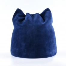 Warm Beanies with Cat Ears (6 colors)
