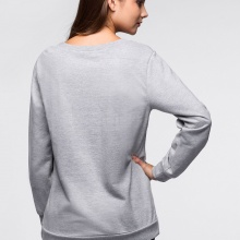 Sweatshirt with Glamour Cat Print (2 colors)