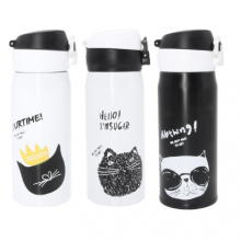 Cat Travel Thermos (3 types)