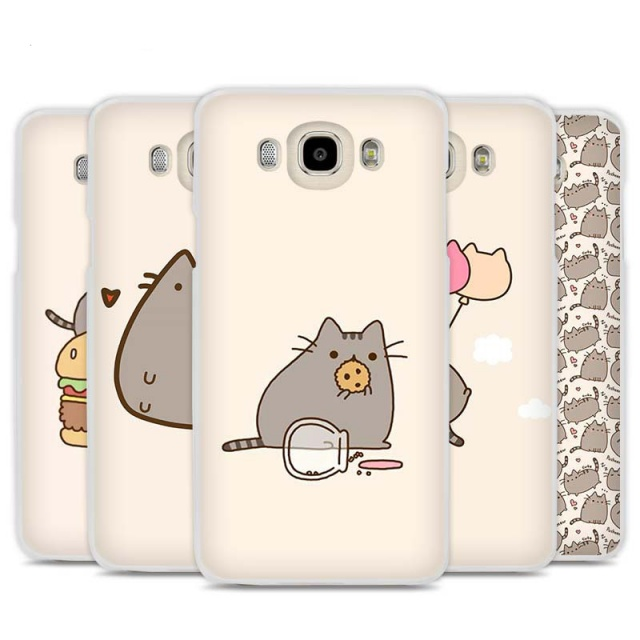 Cute Pusheen Cover for Samsung (10 types)