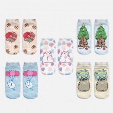 3D Pusheen Cat Socks (5 types)
