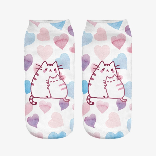 3D Pusheen Cat Socks (5 Types Available)