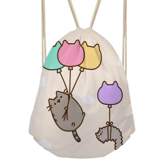 Pusheen Drawstring Bag (10 types)