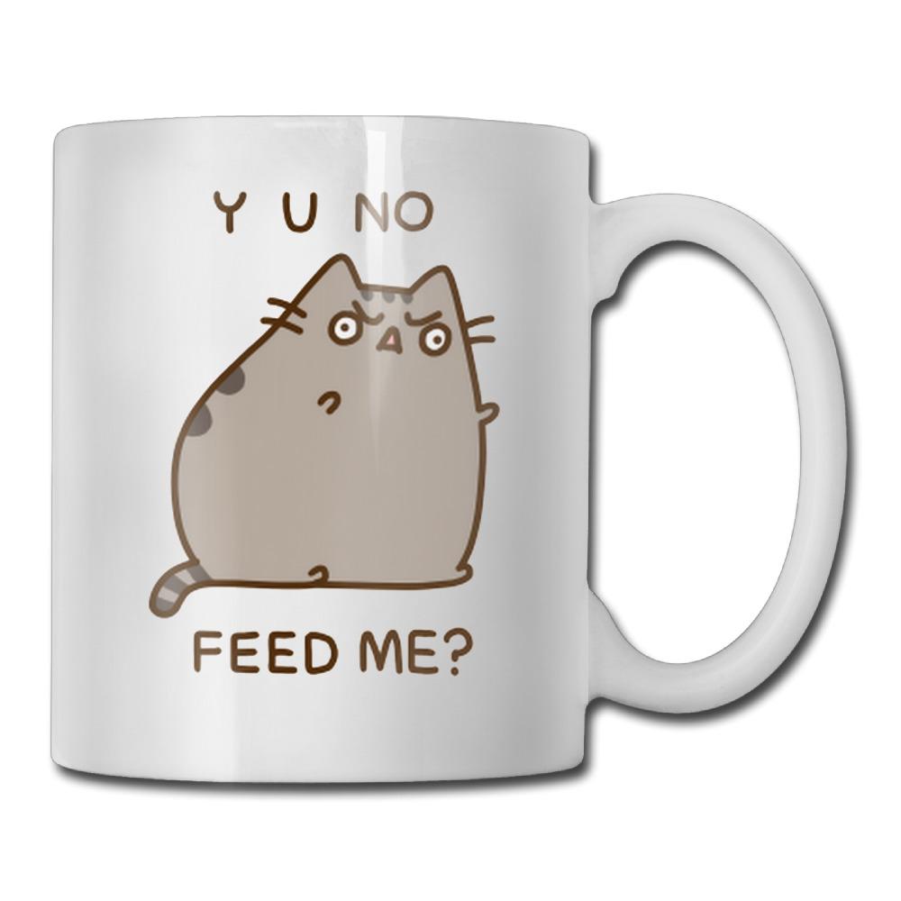 Pusheen The Cat Yo No Feed Me