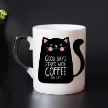 Color Change Cat Mug