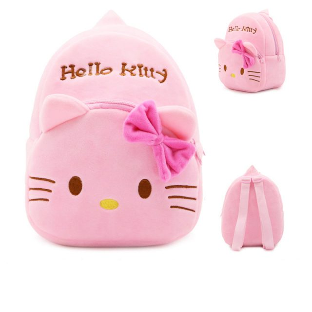 Cute Plush Hello Kitty Backpack