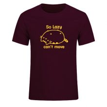 Pusheen The Cat So Lazy Can't Move Cotton T-Shirt