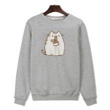 Pusheen Noodles Sweatshirt (2 types)